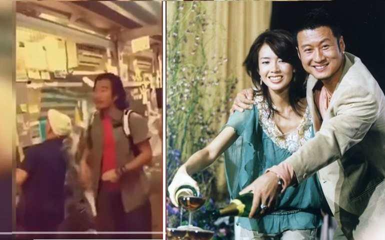 孫興吻熟女讓林美貞切心 返港「撕連儂牆」影片曝光