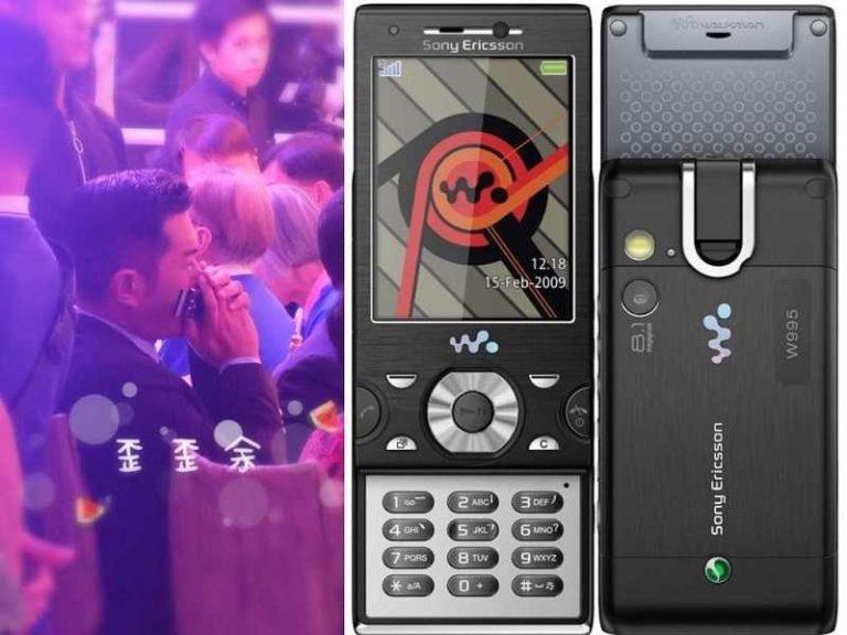 古天樂「老婆」現身未夠驚嚇!古仔兩年前還用 Sony Ericsson 推蓋手機?
