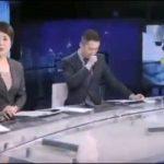 大陸男主播「鏡頭前突然狂咳」!新聞播一半講不出話…女主播緊急助援
