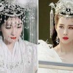 白淺大婚造型曝光,水晶流蘇頭冠撞款錦覓,兩人都不及銀容美麗有氣質